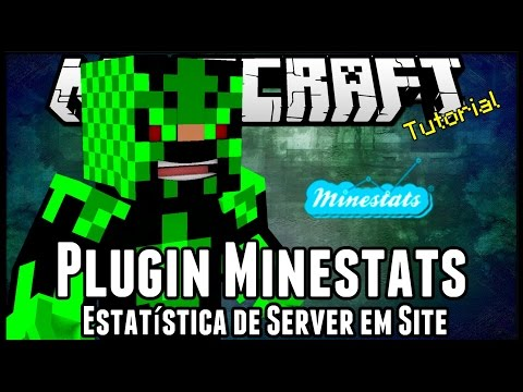 TutorialMinestats Estatistica de Server em Site Minecraft