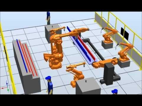 Taşıma Robotu Simülasyonu 10