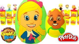 Goldi ve Ayck Srpriz Yumurta Oyun Hamuru Play Doh