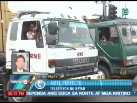 News@6: Lungsod ng Maynila, pansamantalang itinigil ang Truck Ban ng 8-araw