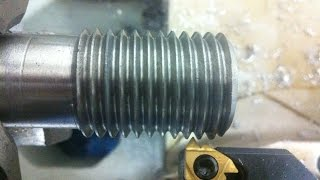 HOW TO THREAD ON LATHE MACHINE  EXTERNAL AND INTER