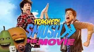 Annoying Orange - SMOSH the MOVIE TRAILER Trashed!!
