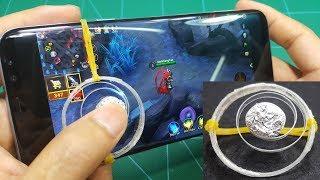 Chế JoyStick Nút Điều Khiển Chơi Game Mobile từ Chai Nhựa