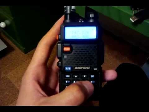 Baofeng UV-5R How-to Program Repeaters