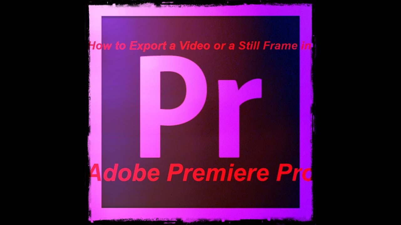 how to make premiere pro export faster
