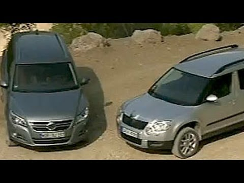 Skoda Yeti vs. VW Tiguan : Yeti gewinnt beim Stauraum