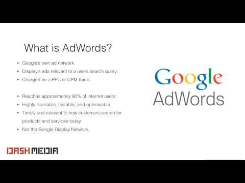 Advertising on Google Part 1: Understanding Google Adwords