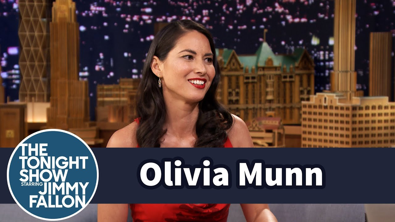 Olivia Munn Is the Family Disappointment - YouTube