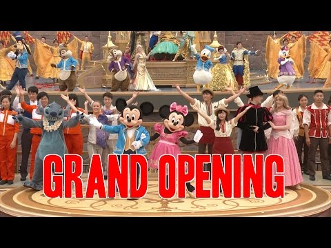 Shanghai Disneyland Grand Opening and First Guests