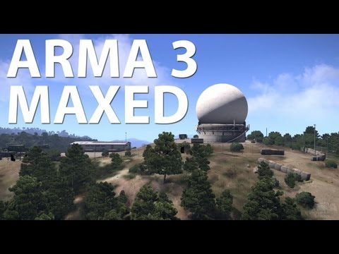 Arma 3 at 1080p with maximum settings