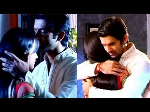 Arnav HUGS & KISSES Khushi ROMANTICALLY in Iss Pyaar Ko Kya Naam Doon 3rd August 2012