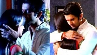 Arnav HUGS & KISSES Khushi ROMANTICALLY in Iss Pyaar Ko Kya Naam Doon 3rd August 2012
