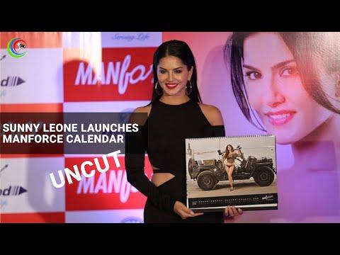 Sunny Leone Launches Manforce Calendar Uncut