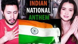 INDIAN NATIONAL ANTHEM | Jana Gana Mana | A. R. Rahman | Indian Armed Forces | Reaction!