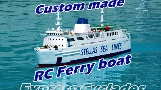 CVP - Custom made RC Ferry boat by Stellas