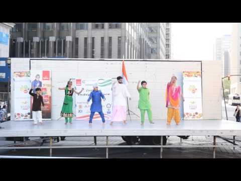 Yaar Punjabi Aee by Gurdas Maan Dance Jersey City Exchange Place NJ