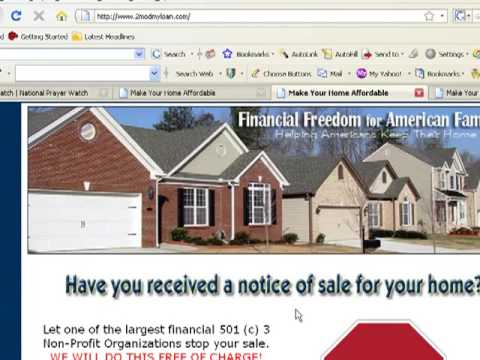 Stop Foreclosure Sale Now (Free Service) Do NOT Lose Your Home