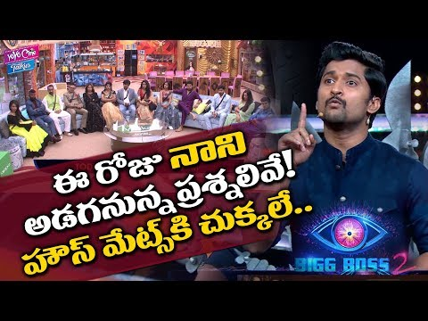 Nani Fires On Bigg Boss Housemates | Bigg  Boss 2 Telugu | Tollywood | YOYO Cine Talkies