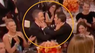 Ryan Reynolds Kissed WHO at the Golden Globes? It