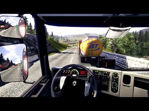 Euro Truck Simulator 2   From Poznan to Praha   Gameplay HD   Job #3