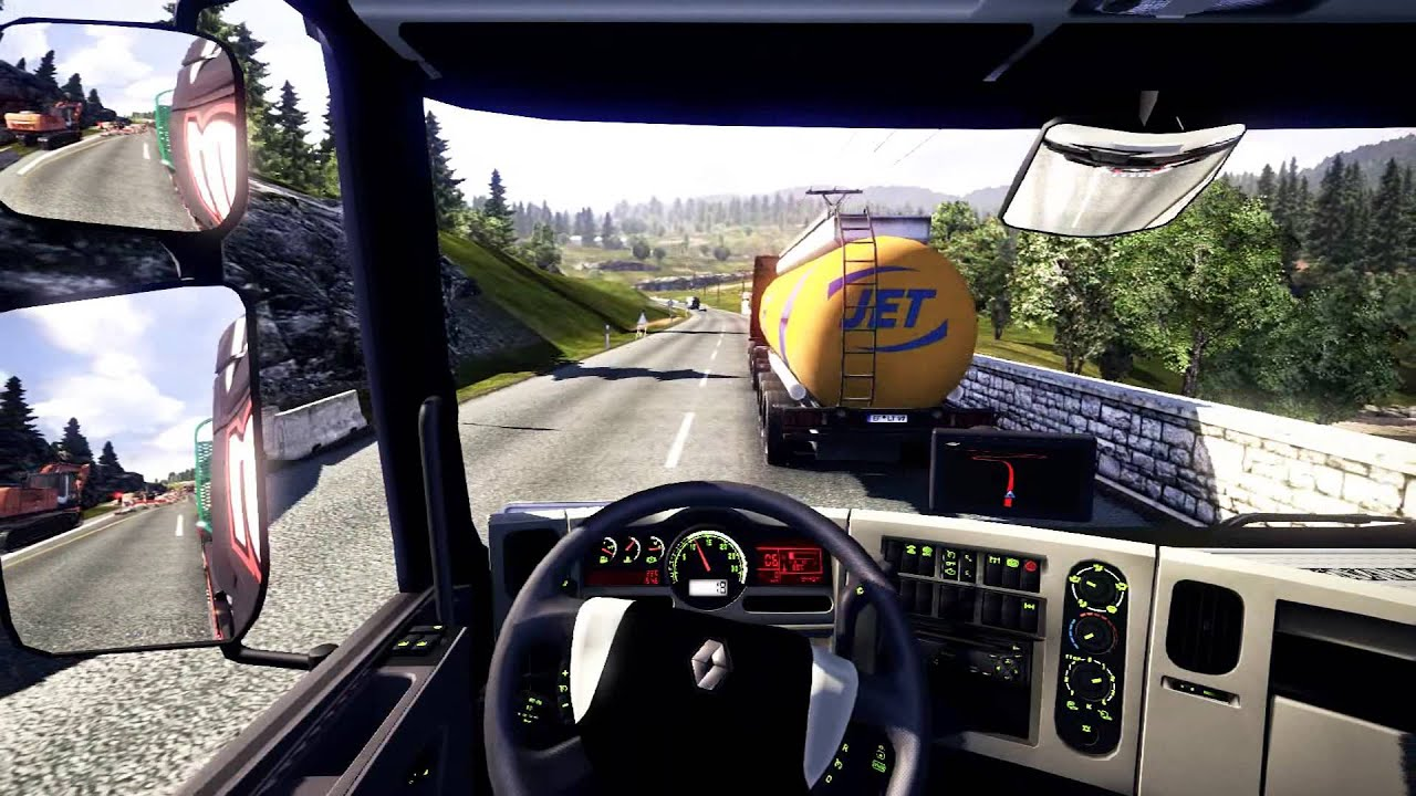 euro truck simulator 2 from poznan to praha gameplay. Black Bedroom Furniture Sets. Home Design Ideas