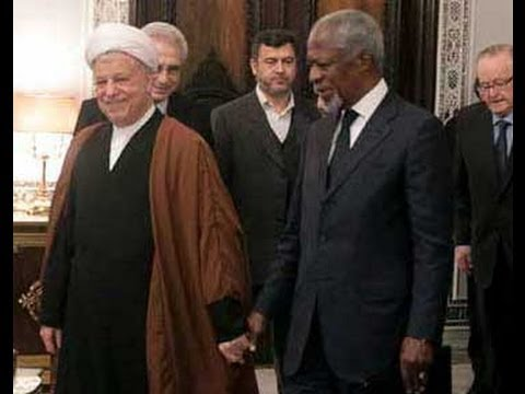 Kofi Annan and group of elders meet Rafsanjani and expessed worry about Syria !