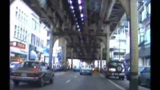 Under the Loop in Chicago - 1988 - Stadtbahn in Chicago