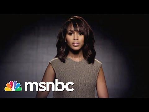 Kerry Washington: Domestic Abuse Awareness | msnbc