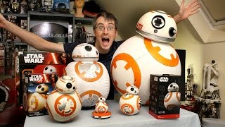 Star Wars BB-8 Unboxing Review & Comparison | Sphero, Bladez, Hasbro