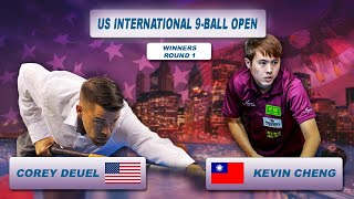 Corey Deuel - Kevin Cheng | US International 9-Ball Open 2018