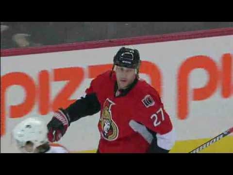 Alexei Kovalev scores four goals Against Flyers - NHL Rogers Sportsnet Feed Video