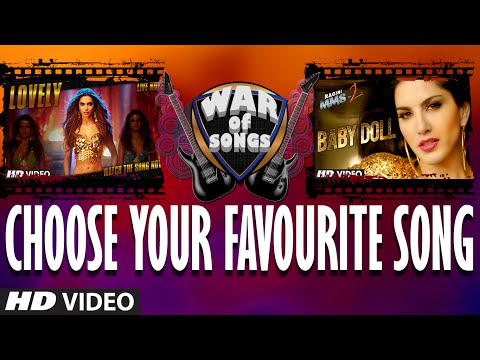 War Of Songs - Lovely Or Baby Doll | Vote Now | Deepika Padukone, Sunny Leone video