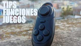 REVIEW GAMEPAD MINI + TIPS || CONTROL REMOTO PARA ANDROID
