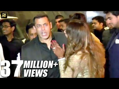 ANGRY Salman Khan INSULTS Reporter For Asking About His Marriage At Bipasha's Wedding 2016