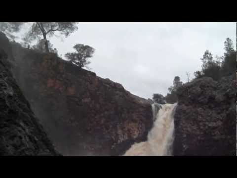 Upper Fairy Falls during Flooding Video