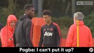 WHAT MOURINHO ACTUALLY SAID TO POGBA (TRANSCRIPT)