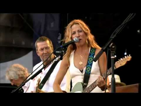 Crossroads Guitar festival  2007   Sheryl Crow  &amp; E  Claptom    Tulsa Time
