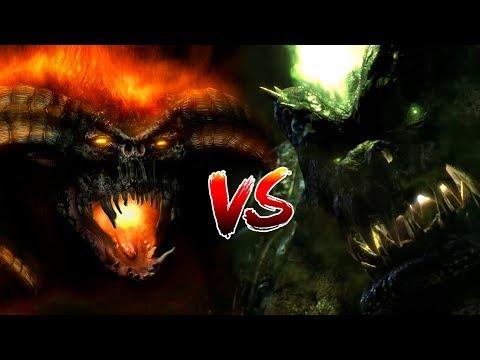 КТО СИЛЬНЕЕ #4: Балрог VS Маннорот   Middle-earth: Shadow of War   Warcraft   DAMIANoNE
