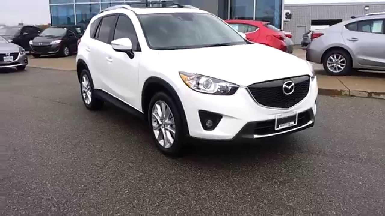 2015 Mazda Cx 5 White With Sand Interior Amp Accessories Youtube