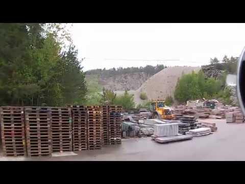 Trucking Girl  Norway unloading  Дальнобой по Норвегии Выгрузка и загрузка по месту с препятствиями