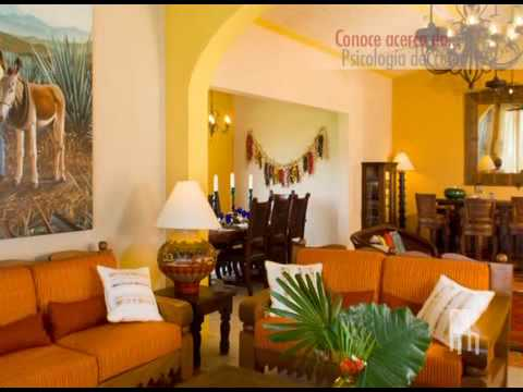 Nuestras casas psicologia del color youtube - Paginas de decoracion de interiores ...