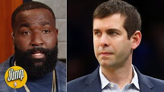 Kendrick Perkins gives credit to Brad Stevens for the Celtics' early success | The Jump