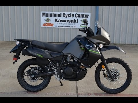 $6.599: 2014 Kawasaki KLR650 New Edition Metallic Gray  Overview and Review