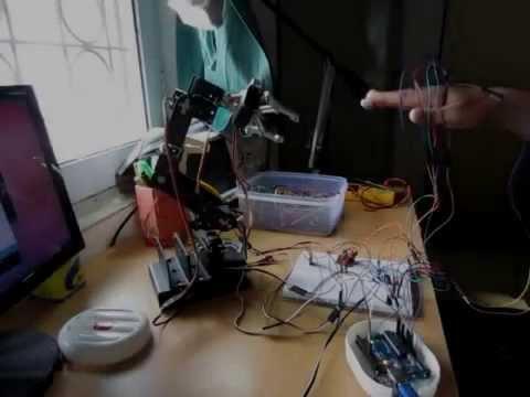 Self-balancing robot - Mechatronics Exercises - Aalto
