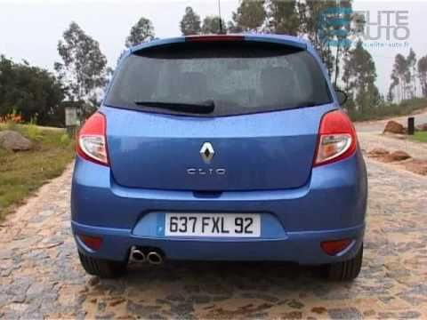 essai renault clio 3 youtube. Black Bedroom Furniture Sets. Home Design Ideas