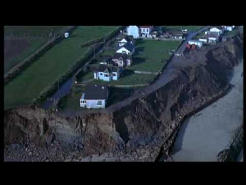 What is coastal erosion?