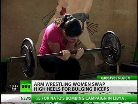 Russia's strongest women fight for recognition