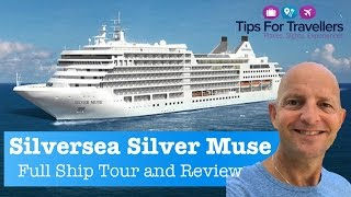 Silversea Silver Muse Cruise Ship Tour and Review :  Best Cruise Ship In The World?