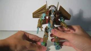 Transformers ROTF Revenge of The Fallen Takara Tomy Breakaway Review (Metallic Brown Version)