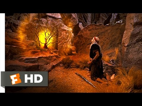 The Ten Commandments (10 10) Movie Clip - The Burning Bush (1956) Hd video